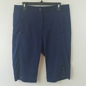 DKNY Navy Blue Golf Capris